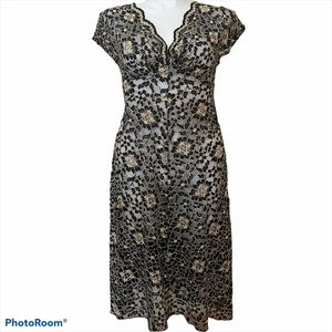 Ruth Anthropology lace sheer dress